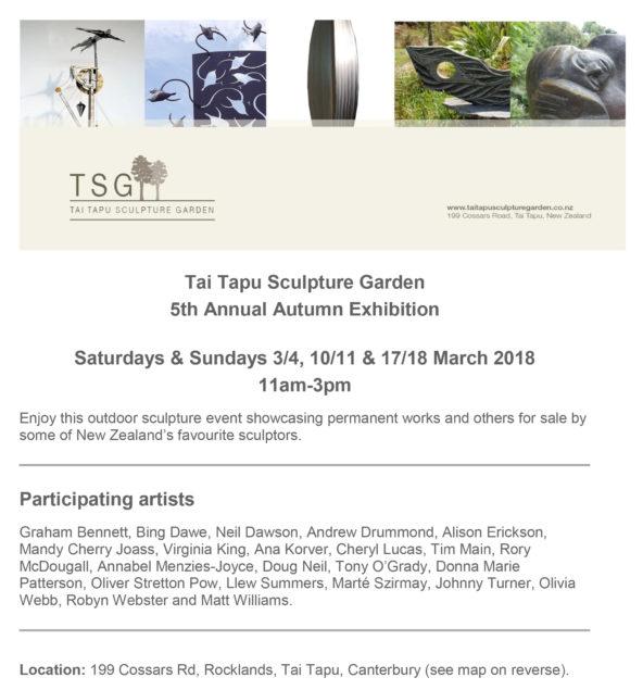 Tai Tapu invitation March 2018